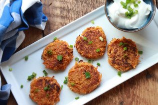 Five Spice Asian Latkes