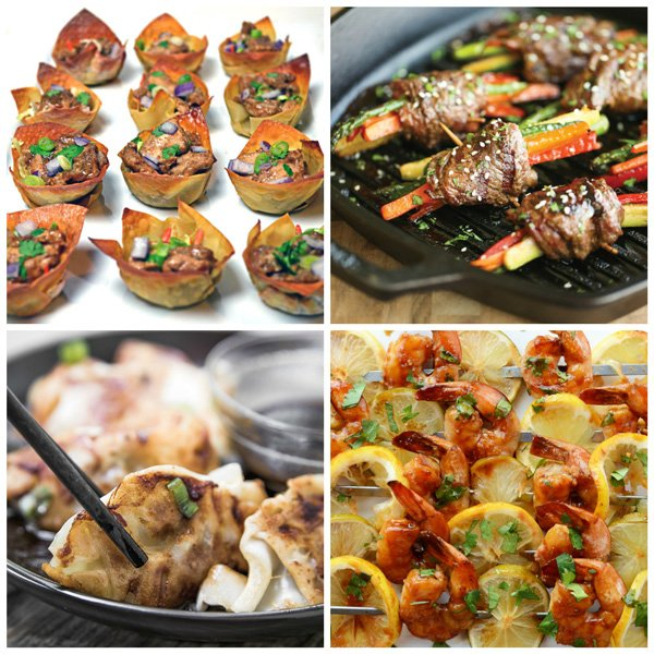 Asian Inspired Finger Food Recipes
