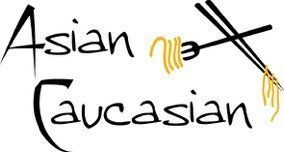 Asian Caucasian Food Blog logo